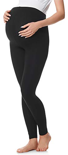 Be Mammy Leggings Premaman Lunghi BE20-230 (Nero, XL)