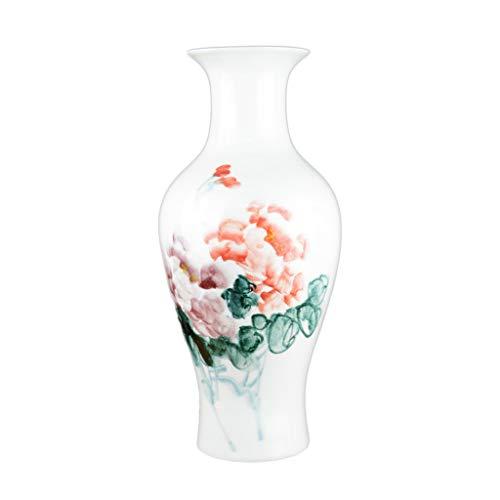 Vases Ceramique Peint À La Main Pastel Maison Salon Fleur Art Décoration Table Ornement Vase décoratif Verre (Color : Fish Tail, Size : Large)