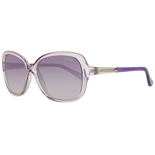 Guess Sonnenbrille GU7455 5881B Gafas de sol, Rosa (Pink), 58 para Mujer