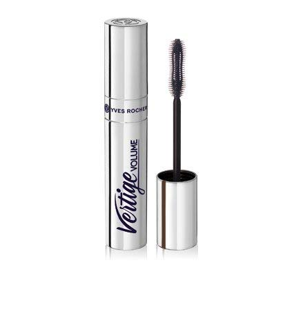 Yves Rocher COULEURS NATURE VOLUME VERTIGE Mascara Noir, XL Volumen mit Wimpernzangen-Effekt, Schwarz, 1 x Flacon 10 ml