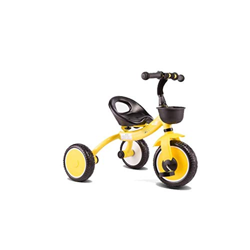 Lowest Price! Yyqt Children's Tricycle, 2-5 YearsStroller Toy car Old Children's Lightweight Baby Bi...