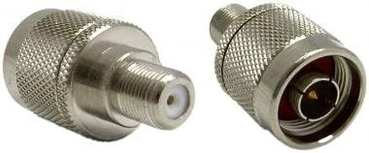 F-Pin Female / N Male Adaptor. RCA Coaxial Connectors, RCA Coaxial Connectors