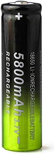 3.7v 5800mah 18650 batería de Carga de Litio baterías Recargables Li Ion Cell para Linterna 1pc