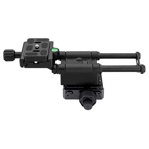 F Fityle Makro Fokussierung Schiene 4 Wege Einstellschlitten Makro Schieberegler für Nahaufnahmen für Pentax & Universal Digtal-Kameras
