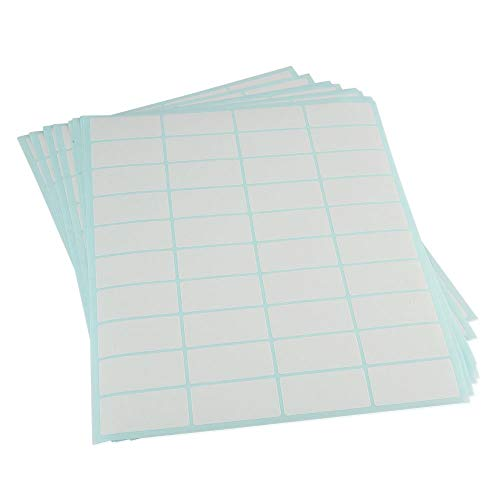 L LIKED Blank Dissolvable Labels 1' x 2' for Food Rotation Safety Labels Canning Labels (1' x 2' - 400 Labels)