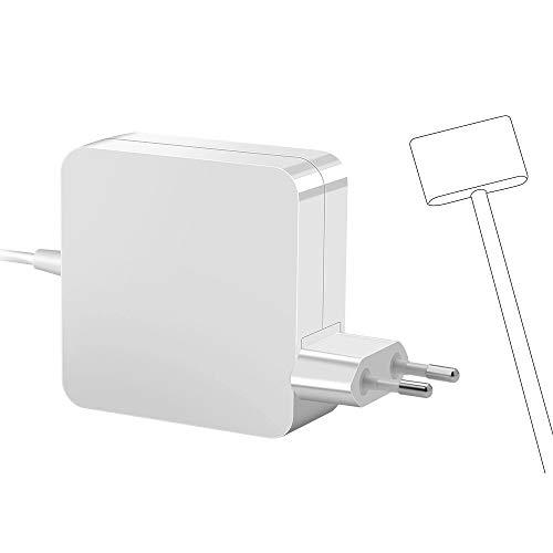 Rocketek Compatible 60W Mac Book Pro Cargador, 60W Adaptador Corriente con Punta en T T-Tip Conector magnético Cargador para A1425 A1435 1502 Mac Book 13 Retina[2013 2014, principios 2015]