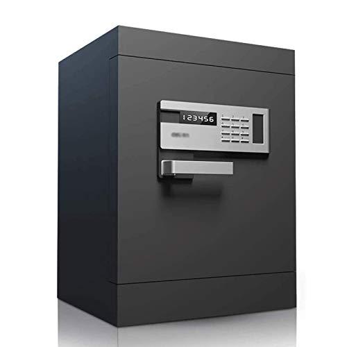Caja fuerte con capacidad for el hogar ignífugo digital resistente al agua caja fuerte electrónica, electrónica de huellas dactilares contraseña Mesita de luz, de gran capacidad de pared Antirrobo com