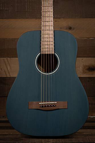 Fender Guitarra acústica de 6 cordas, direita, azul (0971170187)