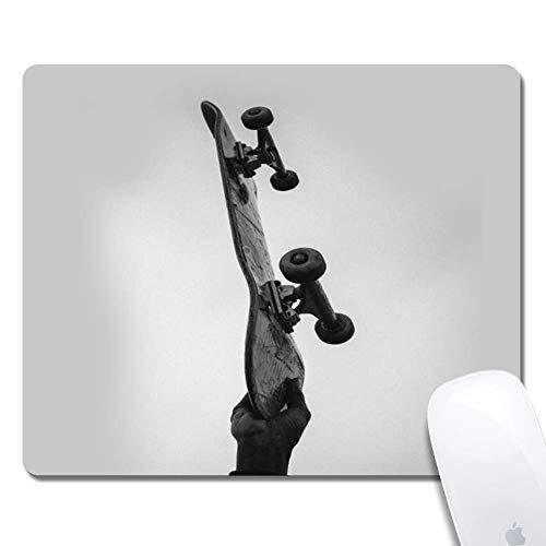 Coole Skateboards Erweitertes ergonomisches Gaming-Mauspad, Rechteck-Mauspad Custom Design Gummi-Rechteck-Mauspad-Coole Skateboards