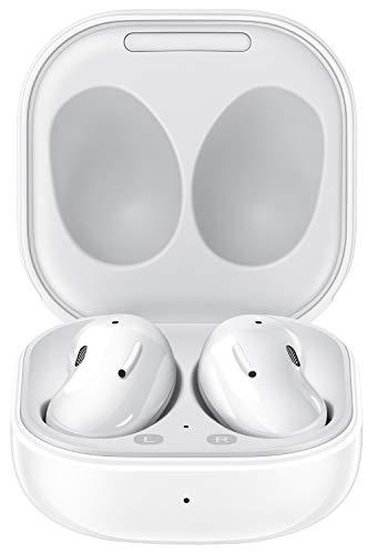 Oferta de SAMSUNG Galaxy Buds Live - Auriculares Bluetooth inalámbricos I 3 micrófonos I Tecnología AKG I Color Blanco [Versión española]
