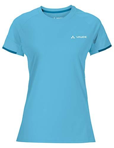VAUDE Women's Scopi Shirt Femme, Bleu Transparent, 42
