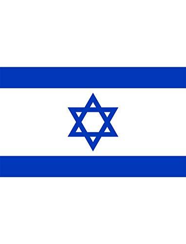 """TrendClub100® Fahne Flagge """"Israel IL"""" - 150x90 cm / 90x150cm"""
