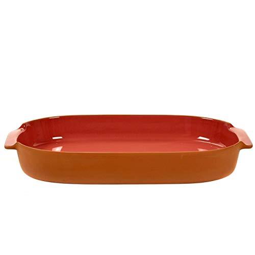Jansen + Co Grand ovale Plat à Four en terre cuite