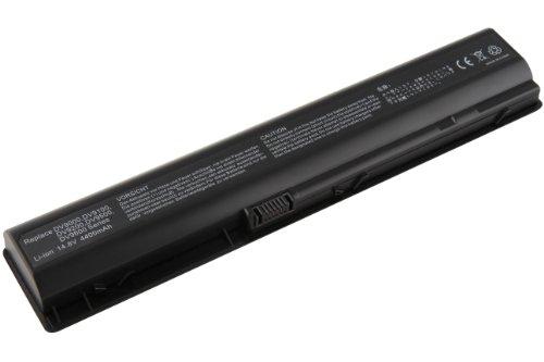 4400mAh Mitsuru Batterie de remplacement ordinateur portable Compatible avec HP Compaq Pavilion DV9500 DV9600 DV9700 DV9800 DV9900