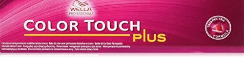 Color Touch Colorazione in Crema, 55/07 Castano Chiaro Intenso Naturale Sabbia - 60 ml
