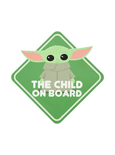 Hot Topic Star Wars The Mandalorian The Child On Board Decal Multi One Size