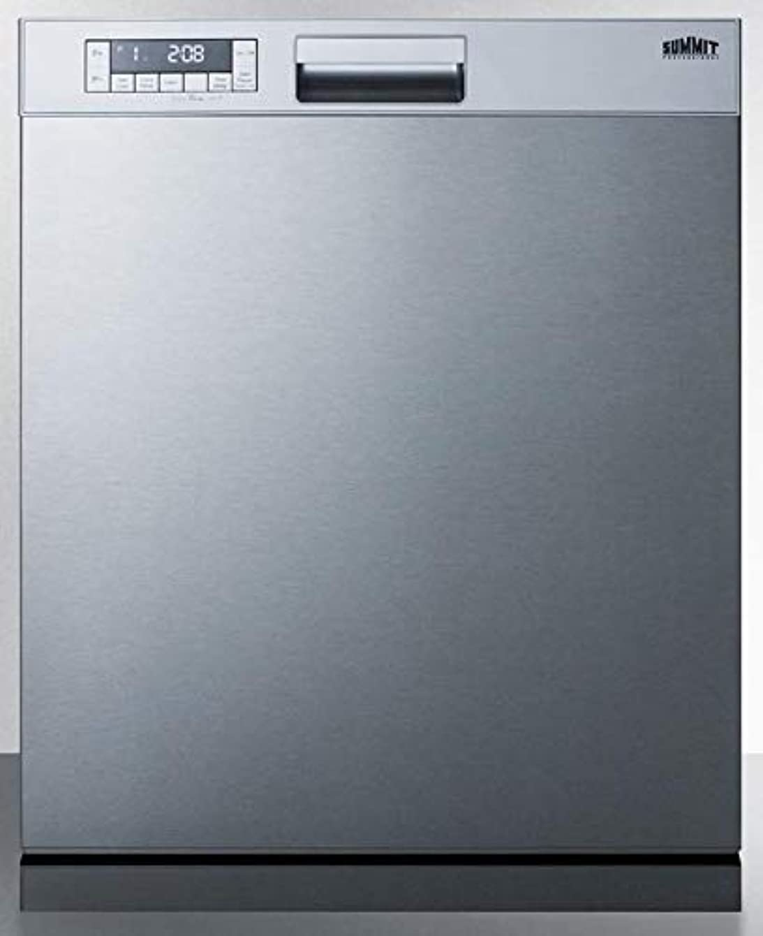 Summit DW2435SSADA 24 Inch Built In Fully Integrated Dishwasher in Stainless Steel
