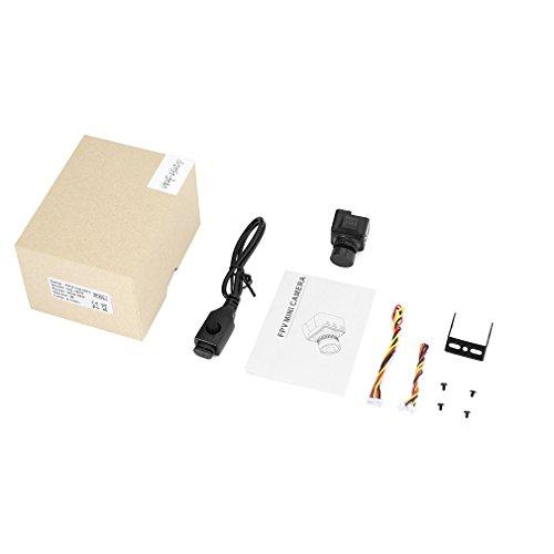 DGdolph Runcam Swift Mini 1/3 '' 2.1Mm Ir 600Tvl FPV Mini-Kamera Pal Für Racing Drone Schwarz