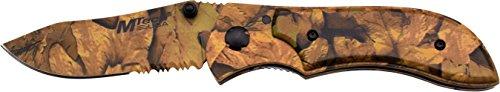 MTech USA Taschenmesser, Camouflage Version, Länge geschlossen incm: 12.07, MTEC-1010