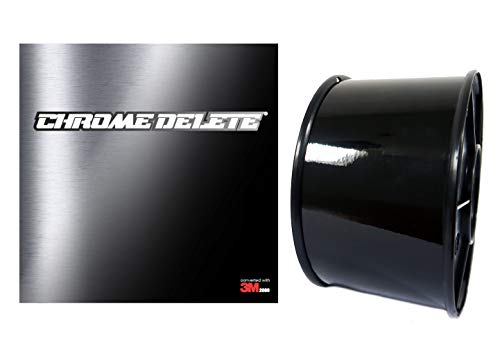 Chrome Delete Wrap Film 20m x 5cm Black Gloss 3M™ 2080 Wrap Film Serie