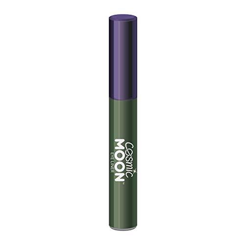 Cosmic Moon - Traceur métallique pour les yeux - 10ml - Pour des styles d'yeux métalliques hypnotisants - Vert