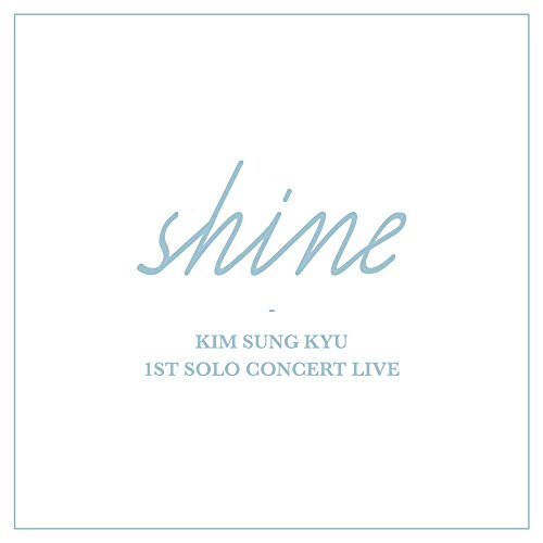 Woolim Entertainment Kim Sung KYU Infinite - 1ST Solo Concert Live Shine 2CD+Booklet+2Photocards+2On Pack Posters