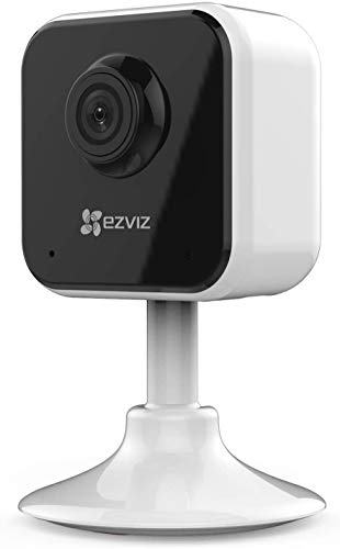 EZVIZ C1HC WiFi Indoor Home Smart Security Camera with 2 Way Talk I Full HD 1080P I Night Vision I Motion Detection I 130 Degree Viewing I I Supports Micro SD Card Upto 256GB.