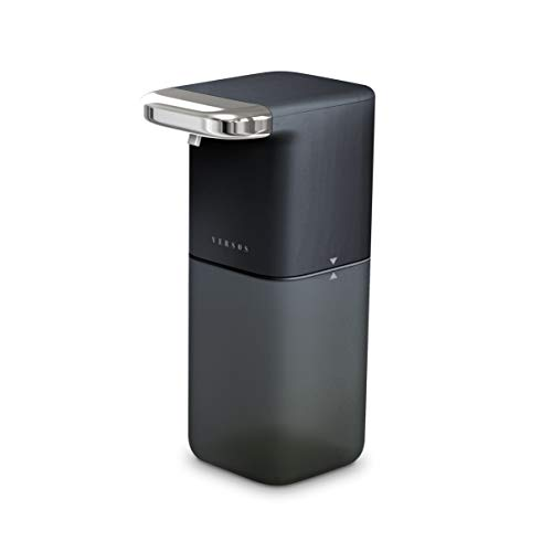 VERSOS(ベルソス ) オート泡ディスペンサー ソープディスペンサー 大容量450ml 2段階調節 自動 泡 ハンドソープ (ブラック)