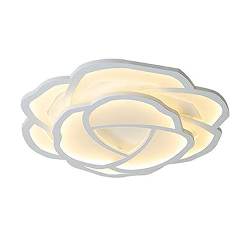 Forma Flor Sala De Estar LED Regulable Con Mando A Distancia Luz De Techo Modernas Lujo Ligero Lámpara De Techo Dormitorio Cuarto De Los Niños Comedor Estudio Iluminación De Techo