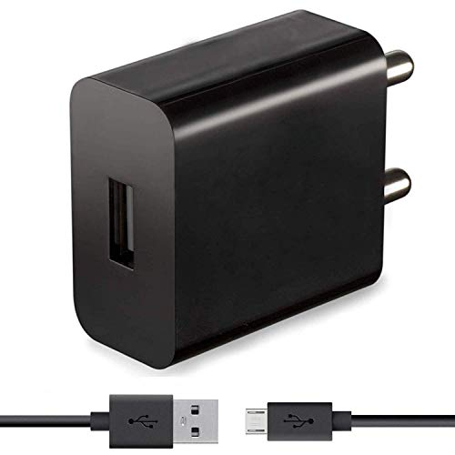 Fast Quick Charger for HTC Windows Phone 8X CDMA Original Charger Adapter Wall Charger | Mobile Charger | Fast Charger | High Speed Charger with 1 M Micro USB Charging Data Cable(2.4 Amp, Black)