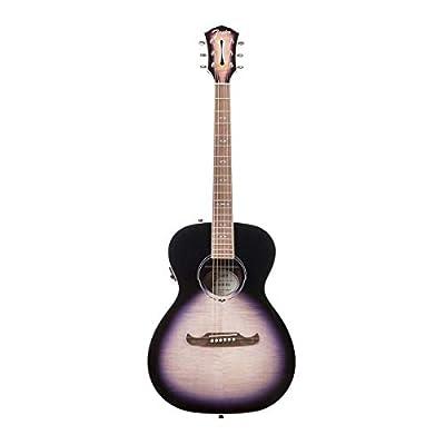 Fender FA-235E Concert Acoustic Electric Guitar, Indian Laurel, Gloss, Lilac Burst
