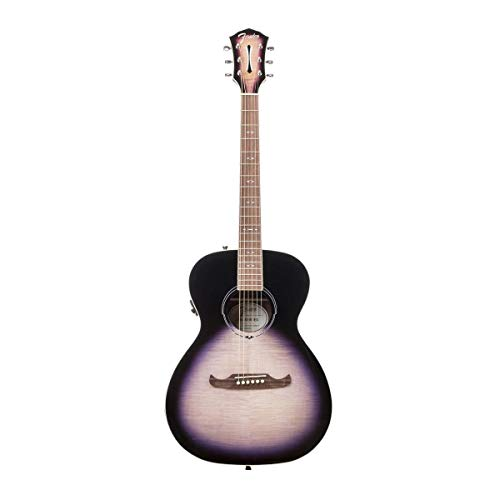 Fender FA-235E Concert Acoustic Electric Guitar, Indian Laurel, Gloss, Lilac Burst