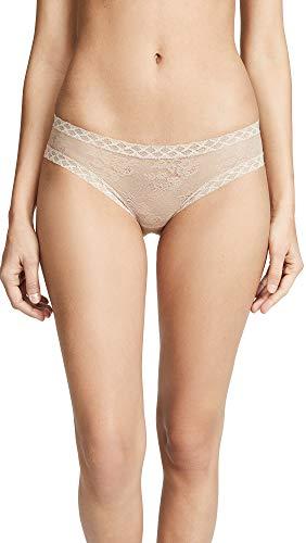 Natori Bliss para mujer niña de encaje breve panty -  Beige -