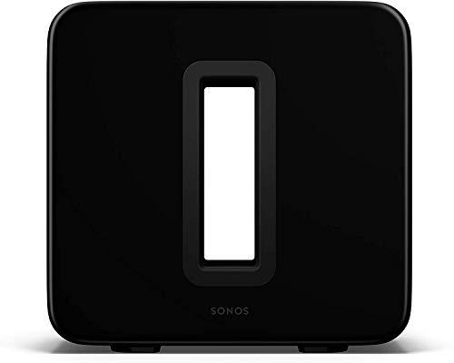 Sonos Sub (Gen 3) - The Wireless Subwoofer for Deep Bass - Black (Renewed)