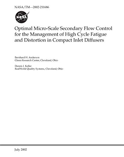 Optimal Micro-Scale Secondary Flow Control for the Management of High Cycle Fatigue and Distortion in Compact Inlet Diffusers (English Edition)