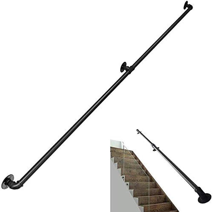 唯一折ストライプ階段の手すり 安全階段手すり、身体障害者、高齢者や子供、階段手すり指示する階段台所用手すり ノンスリップ手すり (Size : 400cm)
