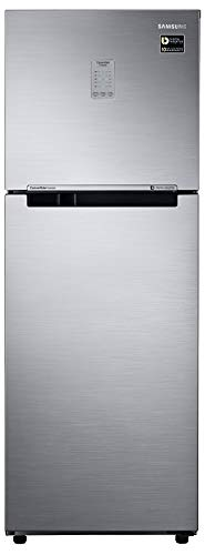 Samsung 253 L 2 Star Frost Free Double Door Refrigerator(RT28N3722SL/NL, RT28N3722SL/HL, Real Stainless, Convertible, Inverter Compressor)