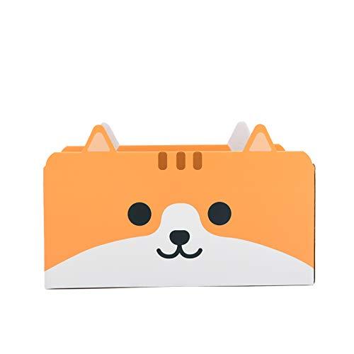 【meoof】猫ベッド 猫ハウス段ボール 猫爪とぎ 猫ハウス 猫 ストレス解消 4種類のデザイン かわいい 爪とぎ(オレンジ)