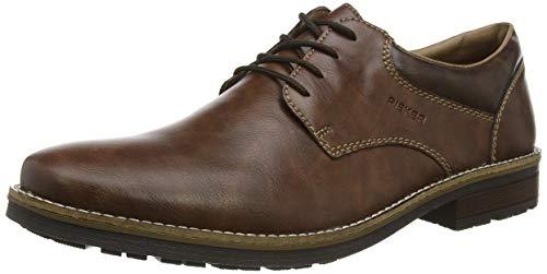 Rieker Herren 13200 Oxford-Schuh, braun, 40 EU