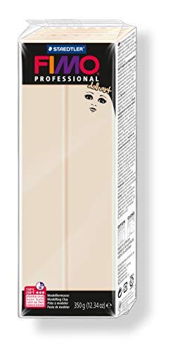 Staedtler 8028-44 - Fimo professional doll art Modelliermasse, ofenhärtend, 350 g, beige