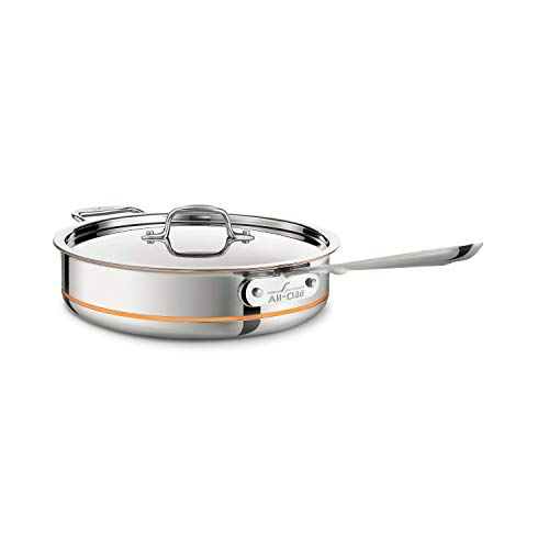 3-Quart Sauté Pan, All-Clad Copper Core