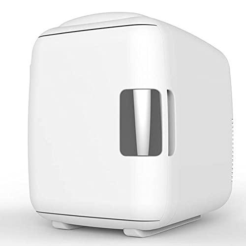 NOVHOME Mini Nevera Portatil para Coche, Refrigerador de Coche EléCtrico de 12V Mini Congelador de 4L Nevera de Viaje Calentador MáS FríA para Acampar Picnic Playa