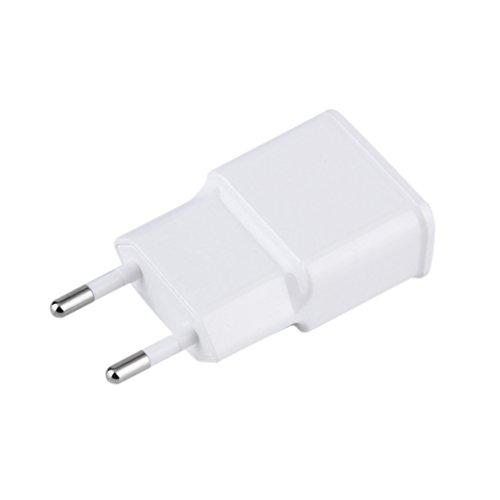 Monllack AC Ladegerät Tablet Netzteil 5V 2A Dual USB 2-Port Reiseladegerät USA Für Handy PC Weiß US/EU Stecker