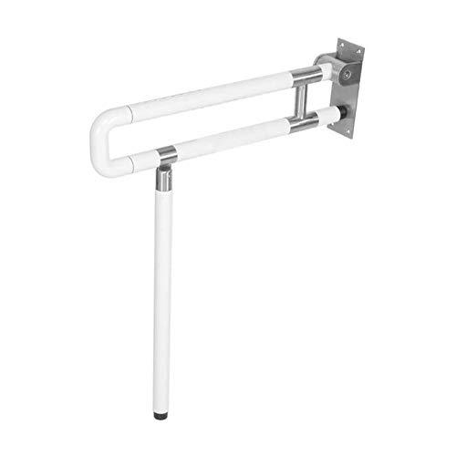 Weiß U-förmige Toilettengriff Bar Barrierefreie Halterbarren Anti-Rutsch-Sicherheitshandlauf-Badezimmer-Hardware-Teile für ältere Menschen
