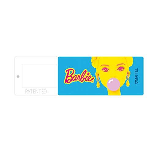 Funda Original y Oficial de Barbie Webcam para Ordenador, portátil, protección de la privacidad, diseño único, Material ABS, 13 x 30 x 2 mm