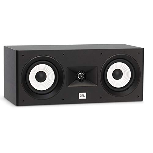 Best Review Of JBL Stage 125, 2-Way Dual 5.25 Woofers, 1 Alluminum Tweeter, Center Loudspeaker