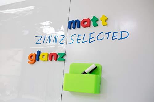 ZINNZ SELECTED | MAT magnetisch zelfklevende whiteboard folie | whiteboard | schrijfbord | folie | wandfolie | zelfklevend | multifunctionele bordfolie | wit afmeting: 50x120 cm