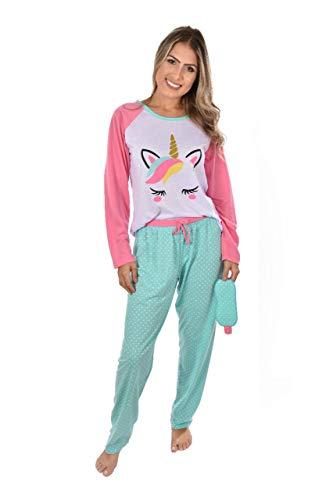 Pijama Ayron Fitness Raglan Longo Adulto Mãe (P)