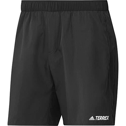 adidas Tx Trail Sh Herren-Shorts, Herren, Kurze Hose, GM4490, Schwarz, S