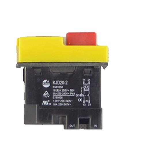 BUZE Orginal Kedu KJD 20-2 Schalter 230 V 50Hz mit Unterspannungsauslöser
